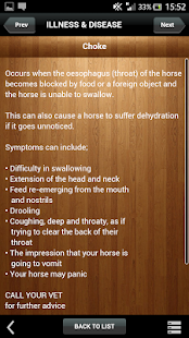 Know Your Horse - Health Care- screenshot thumbnail