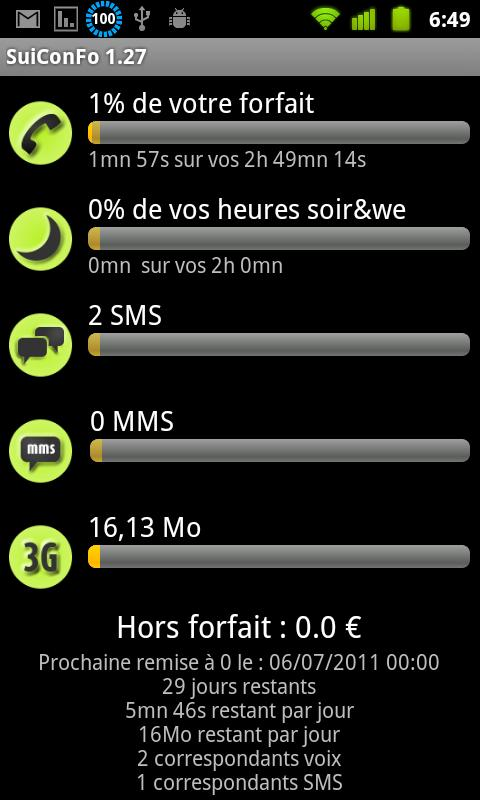 Pack SuiConFo Universal Mobile - screenshot