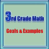 3rd Grade Math, Goals&Examples