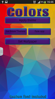 Screenshot of Colors Keyboard