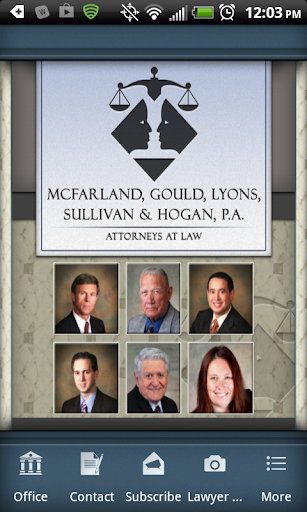 McFarland Gould Law Mobile App