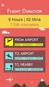 Flight Distance +Airport Codes screenshot 12