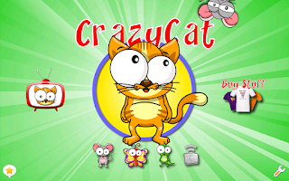 Screenshot of Crazy Cat - The Game for Cats!