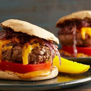 Juicy Grilled Cheeseburgers