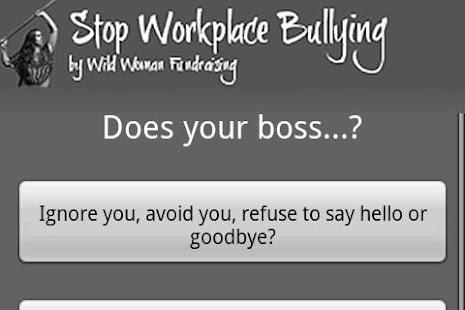 Stop Workplace Bullying (Full) - screenshot thumbnail