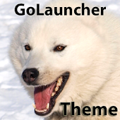 Flying Dog Go Launcer EX Theme