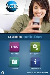 Acie Sécurité- screenshot thumbnail
