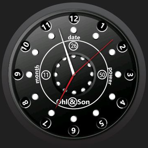Ohlson WatchFace for Wear