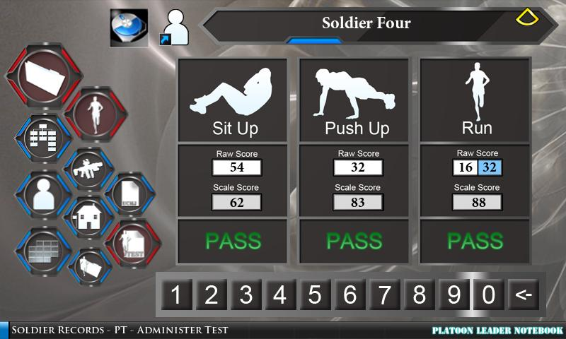 Platoon Leader Notebook - screenshot