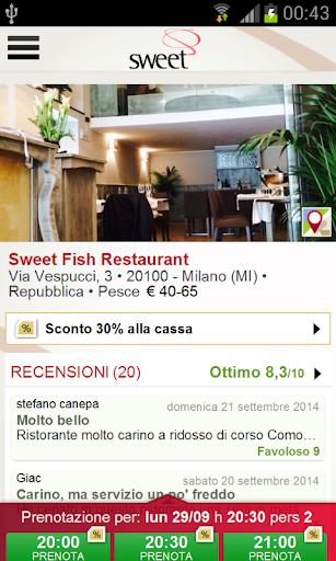 Sweet Fish Restaurant