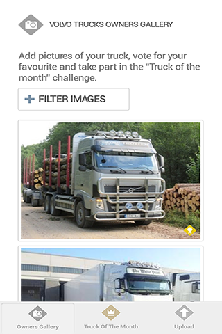Volvo Trucks Owners' gallery - screenshot