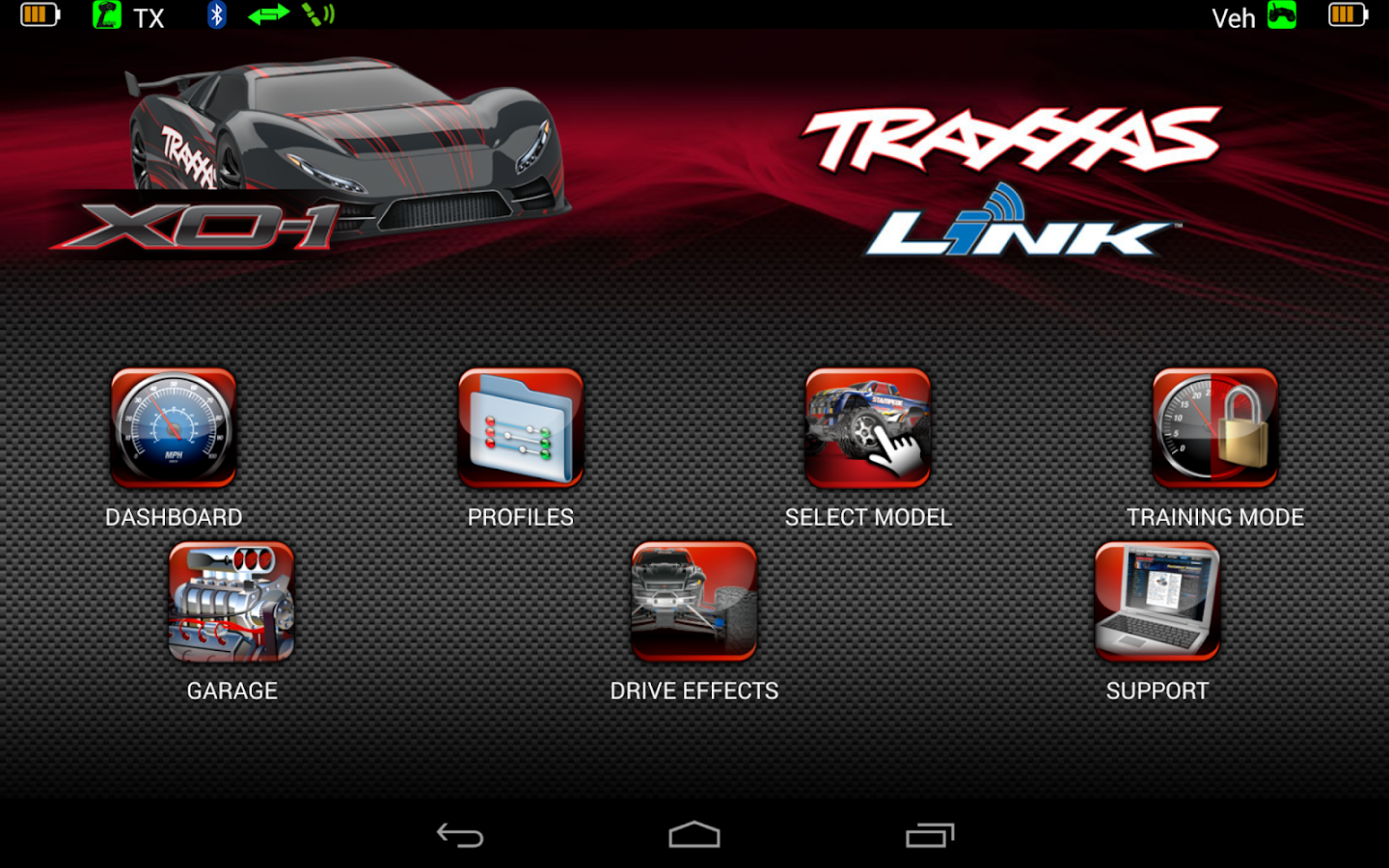 Traxxas Link- screenshot