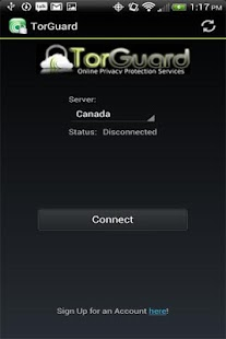 TorGuard VPN - screenshot thumbnail