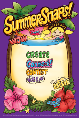 Summer Snaps Photo Sticker App - screenshot