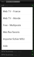 Screenshot of My VODOBOX Web TV (live)