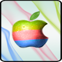 Tricolor Apple Locker Screen icon