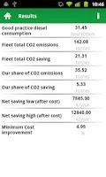 Screenshot of Close CO2 Gap Calculator