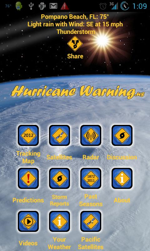 Hurricane Net - screenshot
