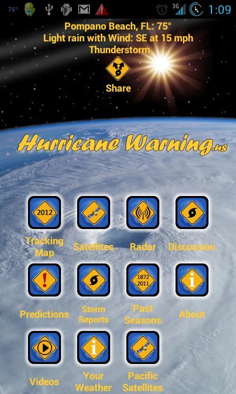 Hurricane Net - screenshot