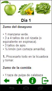 【免費健康App】Zumos detox - Dieta de 3 días-APP點子
