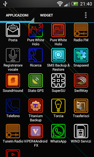 Color Flat Holo Icon pack Full