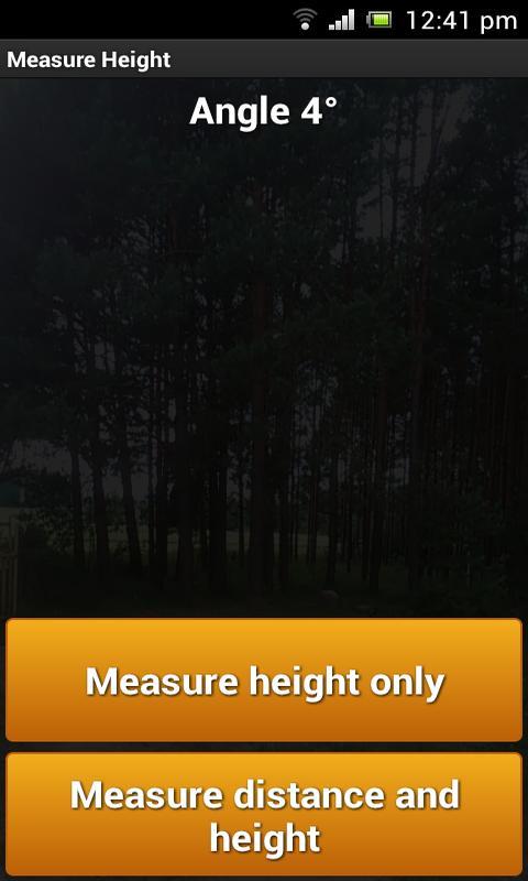 Measure Height- screenshot