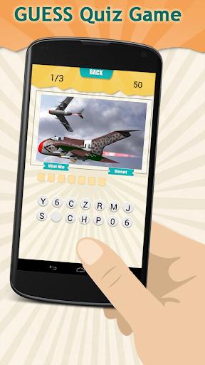 Combat Aircraft Quiz