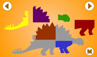 Screenshot of Kids Dinosaur Puzzles Free