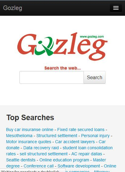 Gozleg Search Engine- screenshot