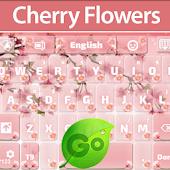 GO Keyboard Cherry Flowers