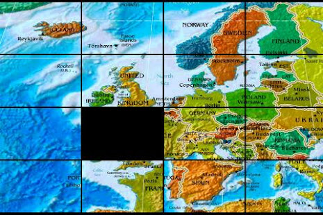 The world map puzzle apps on google play screenshot image gumiabroncs Gallery
