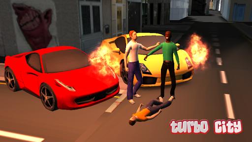 Turbo City 3D Car Smash