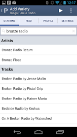Pandora® internet radio Screenshot 3