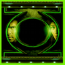 Green free goLauncher EX theme icon