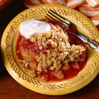 Cranberry-Pear Crisp