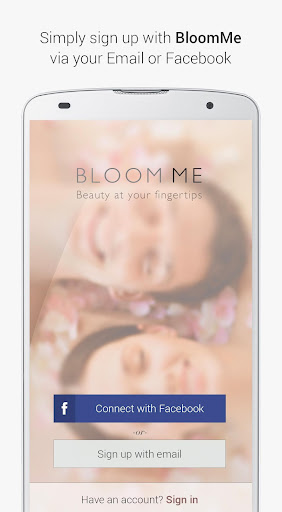 BloomMe - Beauty Booking App