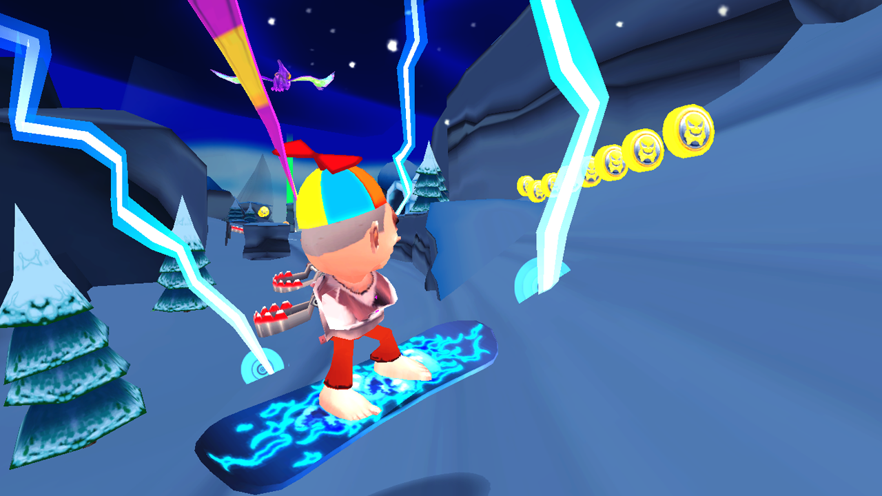 Skiing Fred- screenshot
