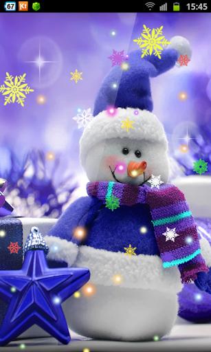 Snowmen Christmas Lights HD LW