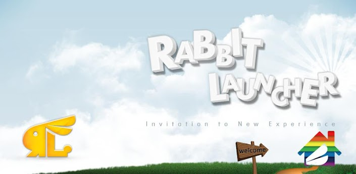 Rabbit Launcher 3D Home Theme
