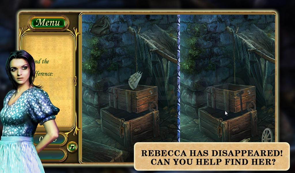 Hidden Object -Where's Rebecca- screenshot