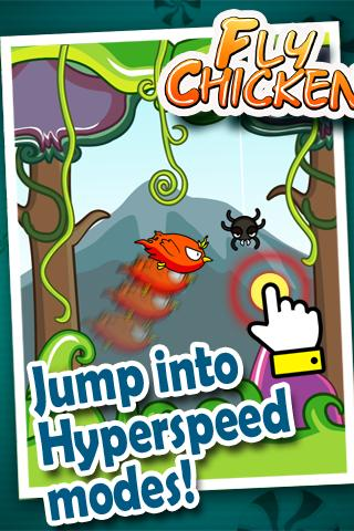 Adventures of Fly Chicken- screenshot