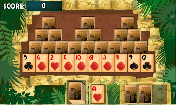 PYRAMID SOLITAIRE Card Game APK screenshot thumbnail 2