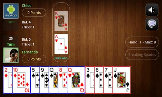 Live Spades Pro - screenshot thumbnail
