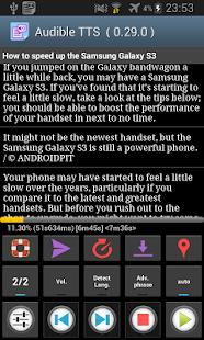Talk Text sf (Voice Reading) - screenshot thumbnail
