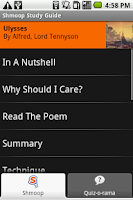 Screenshot of Shmoop: Ulysses