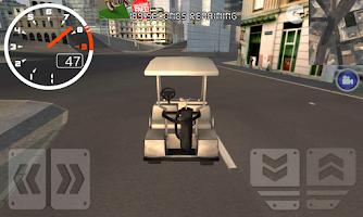 Screenshot of Golf Cart: 3D Driving Sim