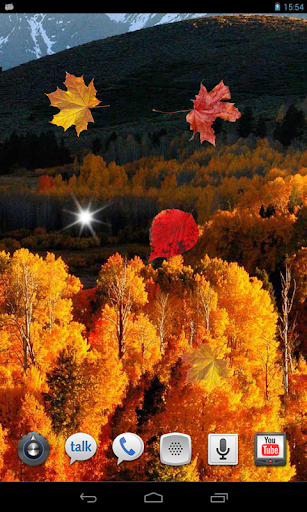 Autumn Gold 3d live wallpaper
