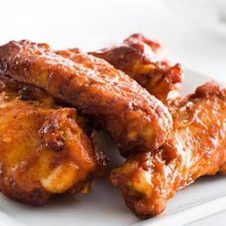 Roasted Chicken Wings with Smoked-Paprika Mayonnaise.