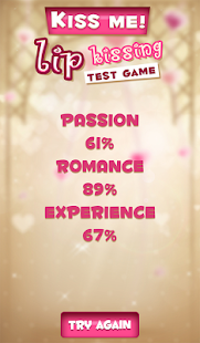 Kiss Me! Lip Kissing Test Game 5