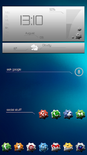 Atoms Icon theme